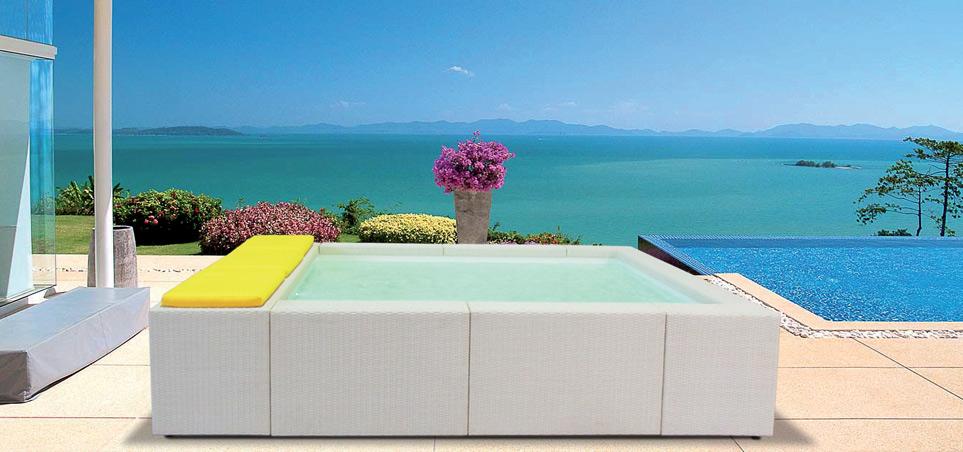 Mini piscine sinuosae di phoenix immagini ispirazione for Mini piscine design