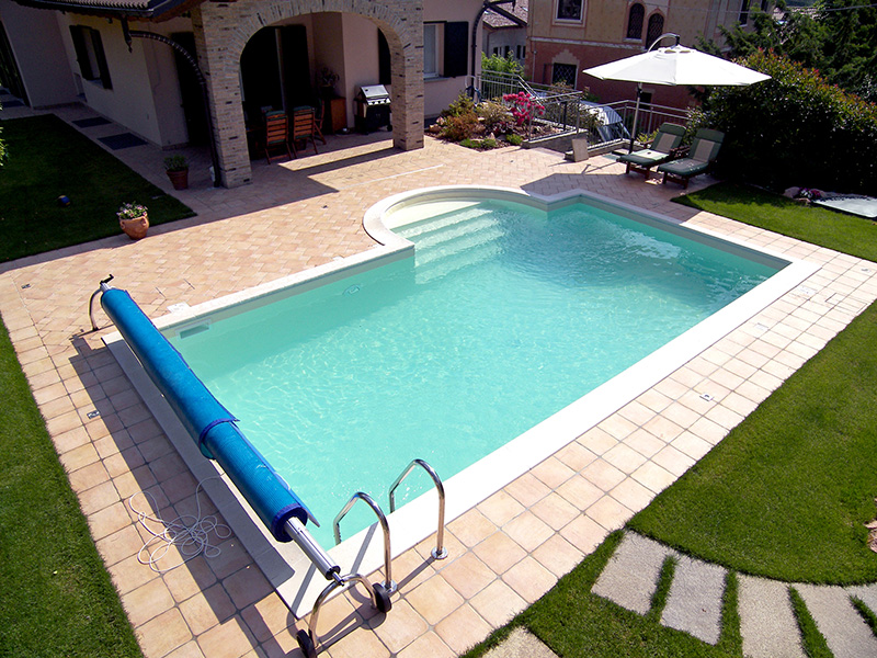 Piscine interrate for Piscine enterree 6x4