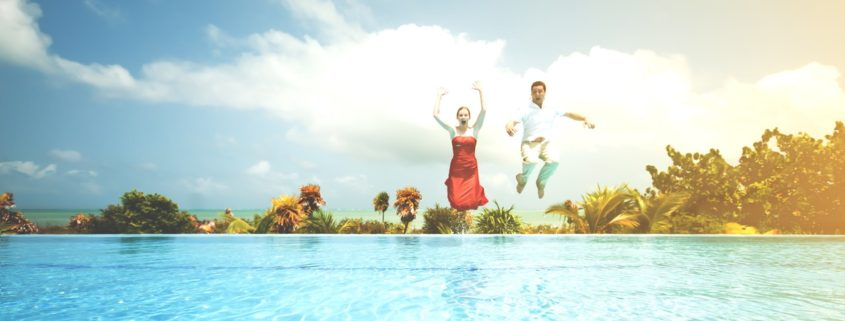 scalette e trampolini per piscina